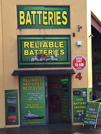 Reliable Battery Shop