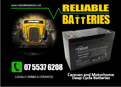motorhome and caravan batteries gold coast